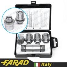 Секретные гайки 12х1,5 L35мм Прессшайба Вращающееся кольцо Farad Starlock (2 keys)