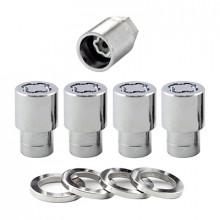 Секретные гайки 12х1,5 L35мм Прессшайба McGard 21556 SU (5 гаек + 1 ключ)