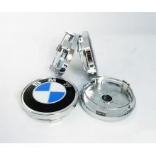 Колпачки на диски BMW 60/56 для неоригинальных дисков