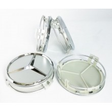 Колпачки на диски Mercedes (75/70) Серебро A1714000025 (с кольцом)