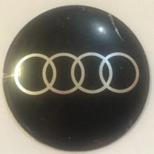 Наклейка на диск Audi 52 выпуклый черный