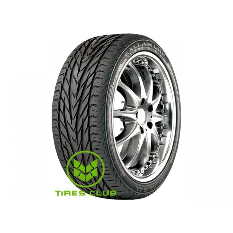 Шины General Tire Exclaim UHP в Запорожье