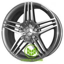 Replica Mercedes (MB74) 9,5x20 5x112 ET35 DIA66,6 (gun metal)
