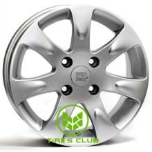 WSP Italy Kia (W3702) Aida 6x15 4x100 ET43 DIA54,1 (silver)