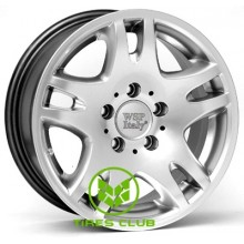 WSP Italy Mercedes (W733) London 7x15 5x112 ET30 DIA66,6 (hyper silver)