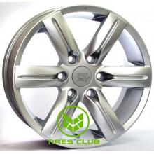WSP Italy Mitsubishi (W3001) Pajero 7,5x17 6x139,7 ET34 DIA67,1 (super silver)