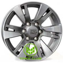 WSP Italy Toyota (W1765) Venere 9,5x20 6x139,7 ET20 DIA106,1 (anthracite polished)