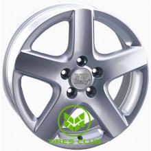WSP Italy Volkswagen (W436) Ravello 7x17 5x100 ET42 DIA57,1 (silver)