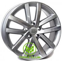 WSP Italy Volkswagen (W460) Rheia 6,5x16 5x112 ET54 DIA57,1 (dull black polished)