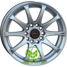 PDW Race-Tek 7x17 5x114,3 ET38 DIA60,1 (silver machined face)