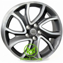 WSP Italy Citroen (W3404) Yonne 7x18 5x114,3 ET38 DIA67,1 (anthracite polished)