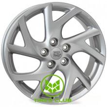 WSP Italy Mazda (W1906) Eclipse 7x17 5x114,3 ET52,5 DIA67,1 (silver)