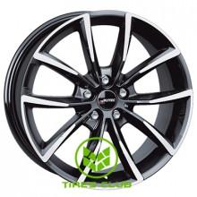 Autec Astana 9x20 5x108 ET43 DIA63,3 (black polished)