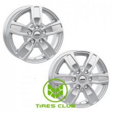 Autec Quantro 6,5x16 6x130 ET62 DIA84,1 (brilliant silver)