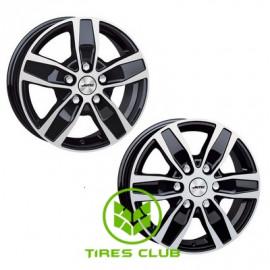Autec Quantro 6,5x16 5x118 ET50 DIA71,1 (black polished)