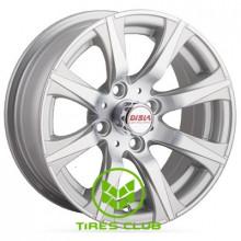 Disla Corsica 5,5x13 4x98 ET14 DIA58,6 (silver)