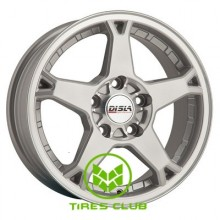 Disla Rapide 6,5x15 5x100 ET35 DIA57,1 (silver)