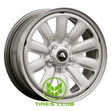ALST (KFZ) 130600 HybridRad 6,5x16 5x108 ET50 DIA63,4 (silver)