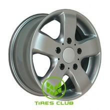 LSW L339 7x16 6x130 ET60 DIA84,1 (silver)