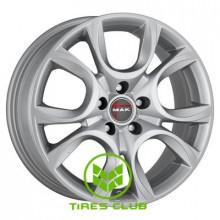 Mak Torino 6x15 5x98 ET39 DIA58,1 (silver)