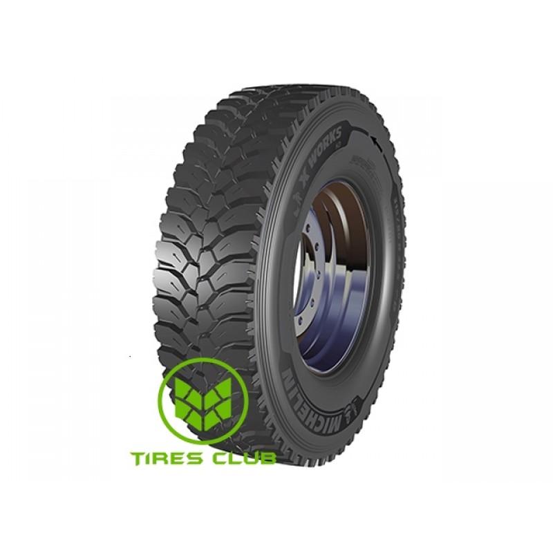Шины Michelin X Works HD D (ведущая) в Запорожье