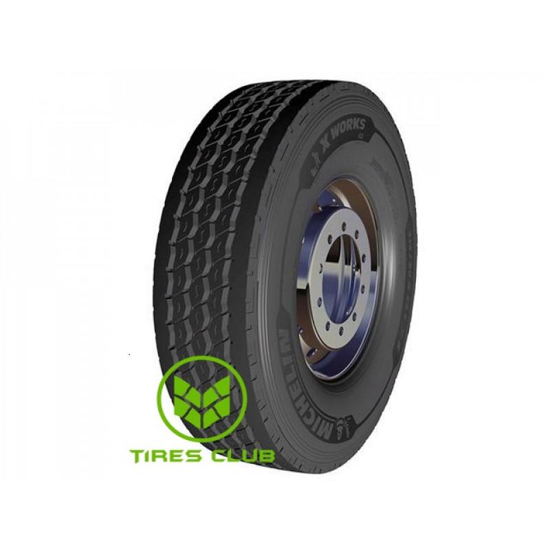Шины Michelin X Works HD Z (рулевая) в Запорожье
