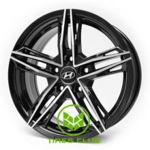 Replica Hyundai (RB333) 6,5x15 5x114,3 ET38 DIA67,1 (BMF)
