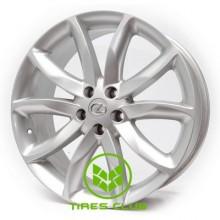 Replica Lexus (RX2) 8,5x20 5x114,3 ET35 DIA60,1 (silver)