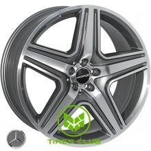 Replica Mercedes (JH-5515) 10x21 5x112 ET46 DIA66,6 (black)