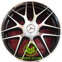 Replica Mercedes (MR251) 10x21 5x130 ET36 DIA84,1 (GMF)