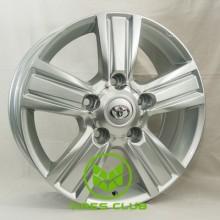 Replica Toyota (GT-ZY864) 8x18 5x150 ET60 DIA110,5 (silver)