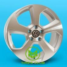 Replica Volkswagen (GT504) 7x16 5x100 ET42 DIA57,1 (SM)