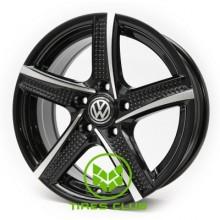 Replica Volkswagen (RB263) 6,5x15 5x100 ET35 DIA67,1 (BMF)