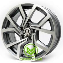 Replica Volkswagen (V61) 6,5x15 5x100 ET35 DIA57,1 (GMF)