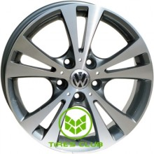 Replica Volkswagen (VW19) 7,5x17 5x112 ET51 DIA57,1 (GMF)