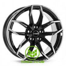 Rial Lucca 6,5x17 4x108 ET20 DIA65,1 (diamond black front polished)