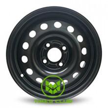 Steel Daewoo 5x13 4x100 ET49 DIA56,6 (black)