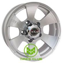 Tech Line TL652 7,5x16 5x139,7 ET0 DIA108,1 (silver)