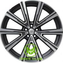 WSP Italy BMW (W686) Fire 9,5x22 5x112 ET37 DIA66,6 (matt gun metal polished)