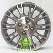 WSP Italy Fiat (W150) Valencia 6,5x16 4x100 ET45 DIA56,6 (silver polished)