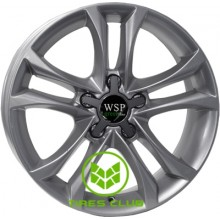 WSP Italy Green Line (G501) Moss 7x16 5x112 ET35 DIA66,6 (silver)