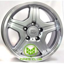 WSP Italy Mercedes (W760) Matera 9,5x18 5x130 ET50 DIA84,1 (silver polished lip)