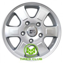 WSP Italy Mercedes (W776) Rhino 6x15 5x130 ET60 DIA84,1 (silver)