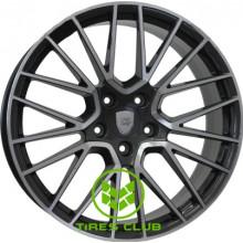 WSP Italy Porsche (W1058) Okinawa 9,5x21 5x130 ET46 DIA71,6 (gloss black)