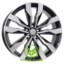 WSP Italy Volkswagen (W470) Cobra 8,5x20 5x112 ET38 DIA66,6 (gloss black polished)