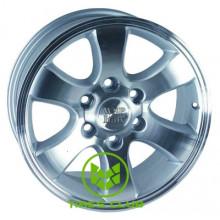 WSP Italy Toyota (W1707) Yokohama Prado 7x16 6x139,7 ET10 DIA106,1 (silver polished)