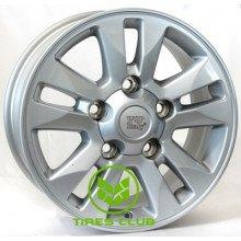 WSP Italy Toyota (W1758) Jeddah 8x17 5x150 ET60 DIA110,1 (silver)
