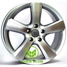 WSP Italy Volkswagen (W451) Dhaka 9x20 5x130 ET60 DIA71,6 (silver polished)