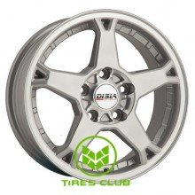 Disla Rapide 6,5x15 5x114,3 ET35 DIA67,1 (silver)