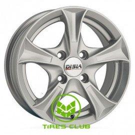Disla Luxury 5,5x13 4x100 ET30 DIA67,1 (silver)